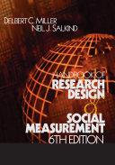 download ebook handbook of research design and social measurement pdf epub