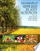 Encyclopedia Of Applied Plant Sciences book