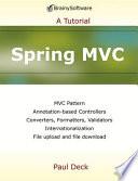 Spring MVC  A Tutorial