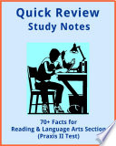 70  Facts for the Reading   Language Arts Praxis II Test