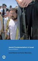 Jewish Fundamentalism In Israel Highly Controversial Book That Examines The History And