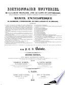 Dictionnaire universel de la langue fran  aise