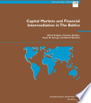 Capital Markets And Financial Intermediation In The Baltics