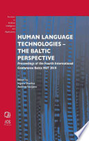 Human Language Technologies - the Baltic Perspective