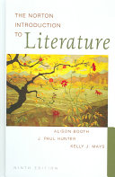 The Norton Introduction to Literature