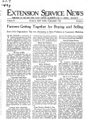 Extension Service News