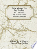 principles of the english law of contract