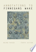 Annotations To Finnegans Wake book