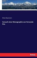 Versuch einer Monographie von Fernando Póo