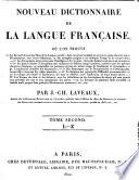 Nouveau dictionnaire de la langue fran  aise
