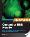 Instant Cucumber BDD How to