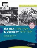 USA 1910-1929 & Germany 1929-1947
