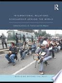 International Relations Scholarship Around the World