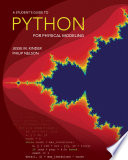 A Student s Guide to Python for Physical Modeling
