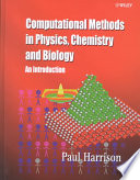 Computational Methods in Physics  Chemistry and Biology