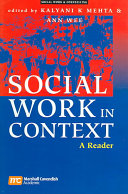 Social Work in Context