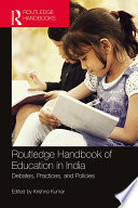 Routledge Handbook of Education in India