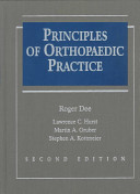 Principles of Orthopaedic Practice