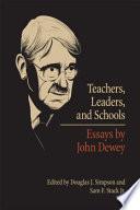 Teachers  Leaders  and Schools