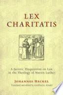 Lex Charitatis