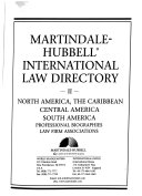 Martindale Hubbell International Law Directory book