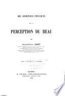 Perception Du Beau