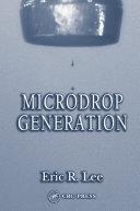 Microdrop Generation