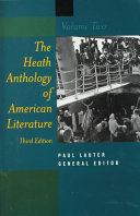 The Heath Anthology of American Literature  Contemporary Period 1945 to the present Book PDF