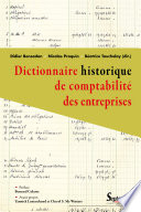 Dictionnaire historique de comptabilit   des entreprises