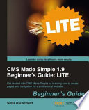 Cms Made Simple 1 9 Beginner s Guide