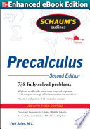 Schaums Outline of Precalculus 2 E  ENHANCED EBOOK