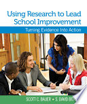Using Research to Lead School Improvement