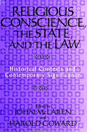 download ebook religious conscience, the state, and the law pdf epub