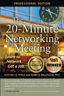 The 20 Minute Networking Meeting   Professional Edition