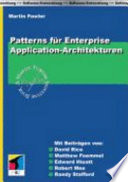 Patterns f  r Enterprise Application Architekturen