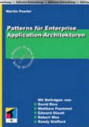 Patterns für Enterprise-Application-Architekturen