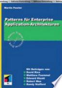 Patterns für Enterprise-Application-Architekturen