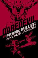Daredevil by Frank Miller   Klaus Janson Omnibus