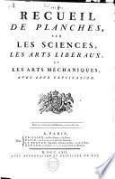 illustration du livre Encyclopédie ou dictionnaire raisonné des sciences, des arts et des métiers