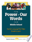 The Power of Our Words for Middle School