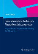 Lean-Informationstechnik im Finanzdienstleistungssektor