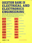 Question Bank In Electrical And Electronics Engineering