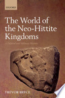 The World Of The Neo Hittite Kingdoms
