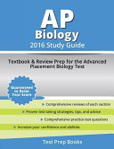 AP Biology 2016 Study Guide