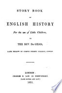 Story book of English history