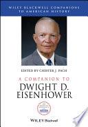 A Companion to Dwight D  Eisenhower