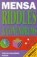 Mensa Riddles   Conundrums