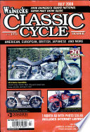 WALNECK'S CLASSIC CYCLE TRADER, JULY 2008