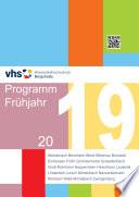 KVHS Programmheft 2019