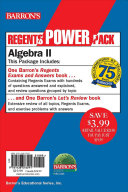Algebra II Power Pack